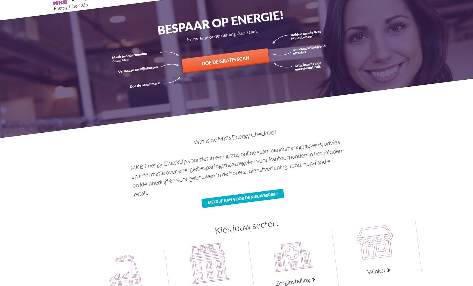 Voor kleinere bedrijven: De MKB Energy Checkup